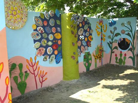 Multimedia sensory garden honor pinner art projects multimedia sensory garden workwithnaturefo